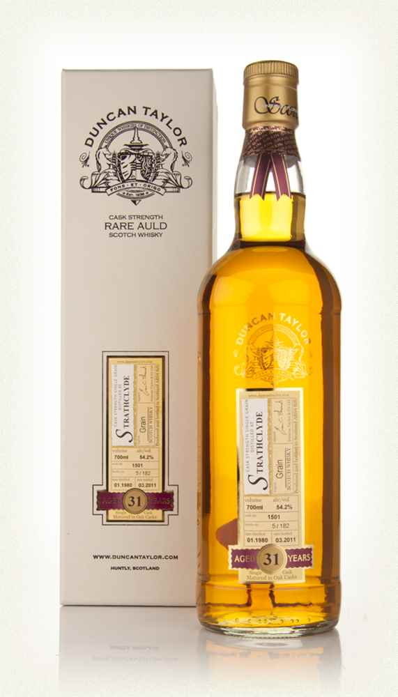 Strathclyde 31 Year Old 1980 Cask 1501 - Rare Auld (Duncan Taylor)
