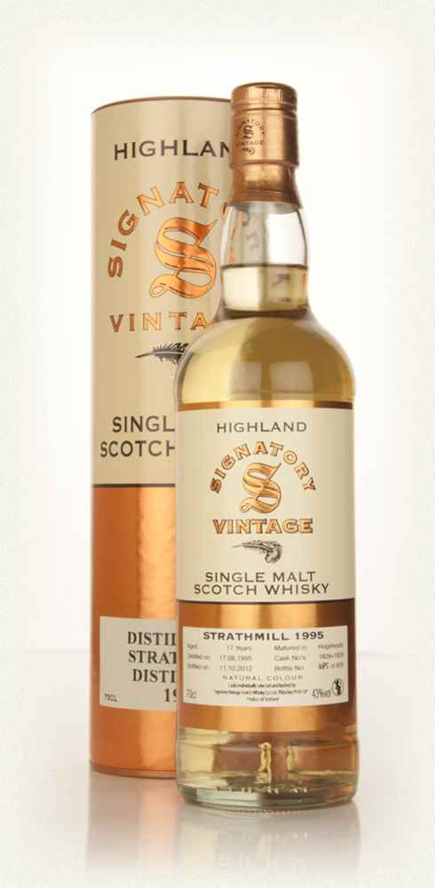Strathmill 17 Year Old 1995 (casks 1828+1829) (Signatory)
