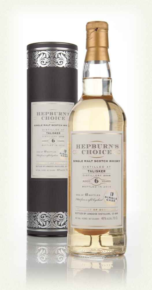 Talisker 6 Year Old 2008 - Hepburn's Choice (Langside)