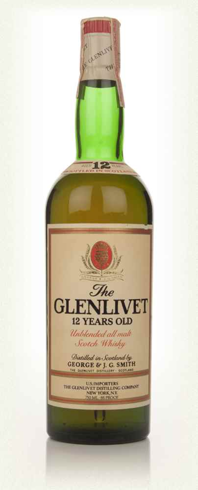 The Glenlivet 12 Year Old - 1970s