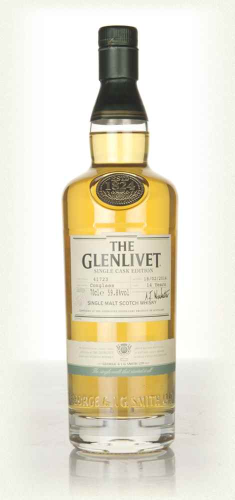 The Glenlivet Conglass 14 Year Old - Single Cask Edition