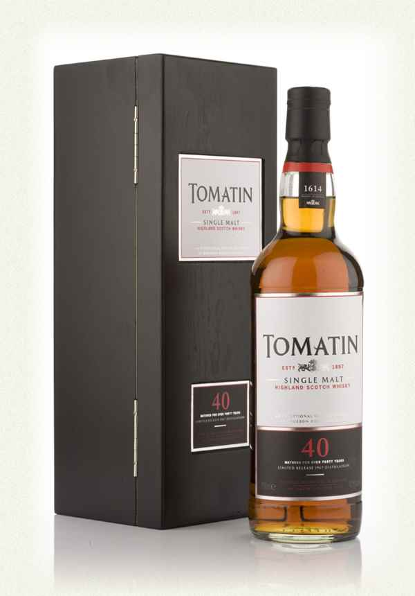 Tomatin 40 Year Old