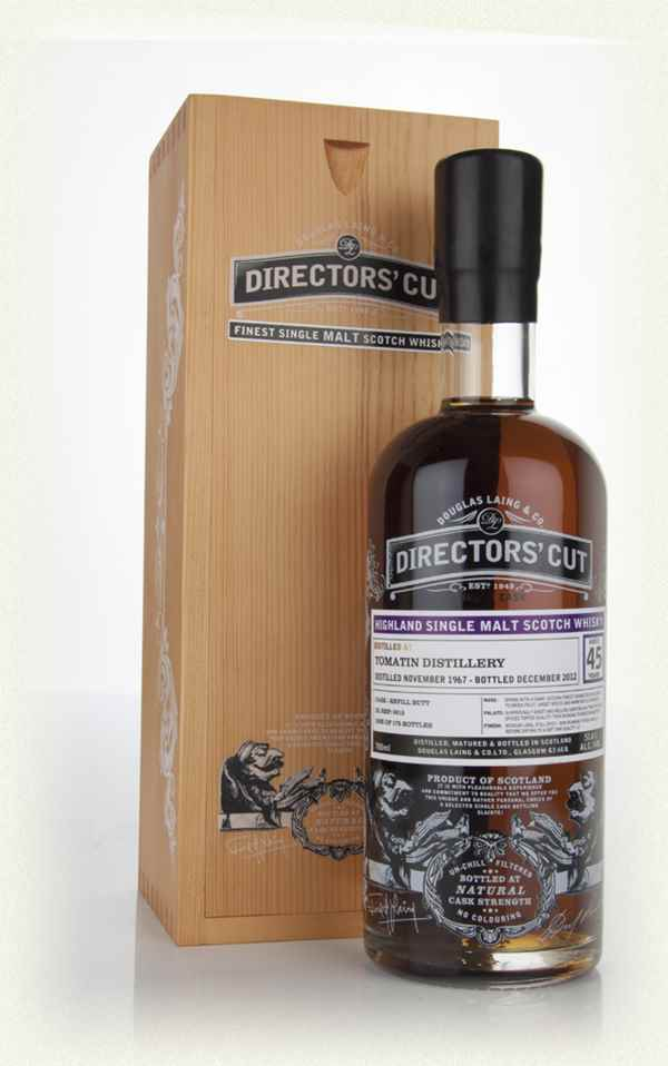 Tomatin 45 Year Old 1967 (cask 9315) - Directors' Cut (Douglas Laing)