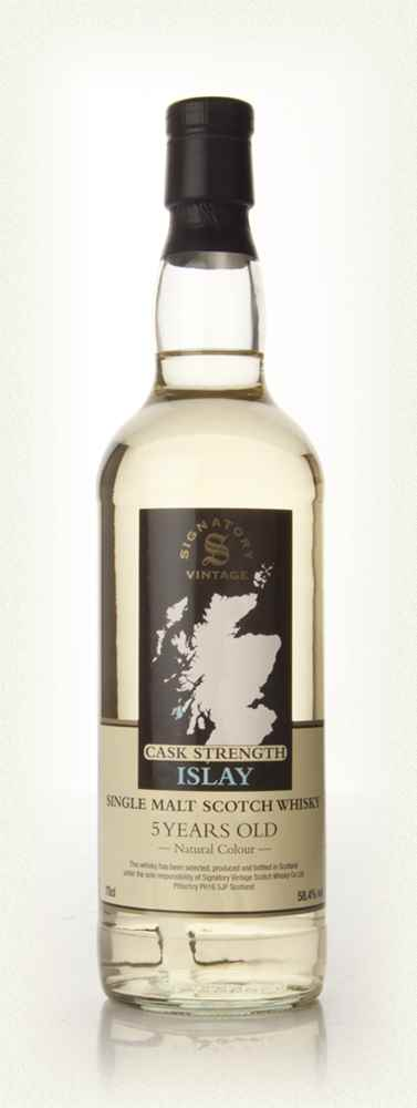 Vintage Islay 5 Year Old Cask Strength - (Signatory)