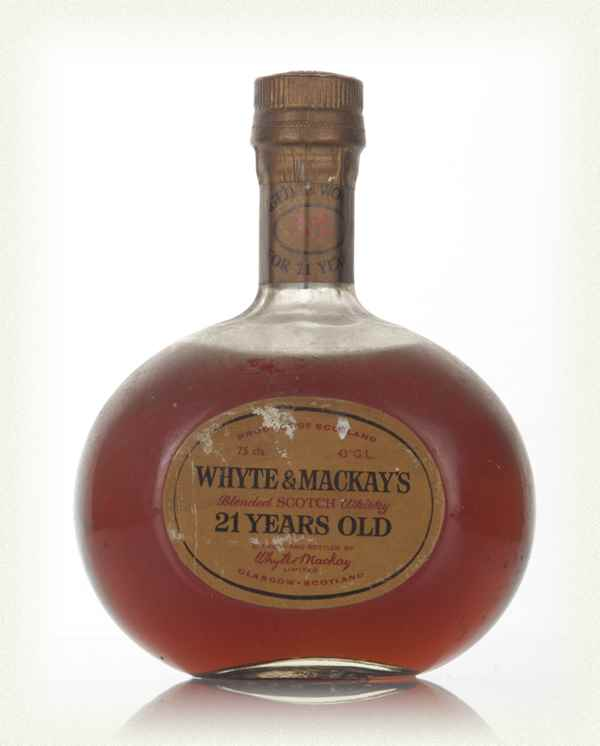 Whyte & Mackay 21 Year Old - 1970s