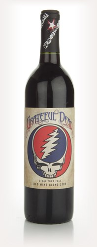 Wines That Rock - Grateful Dead - Steal Your Face