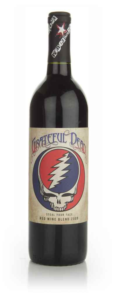 Wines That Rock - Grateful Dead - Steal Your Face 2009