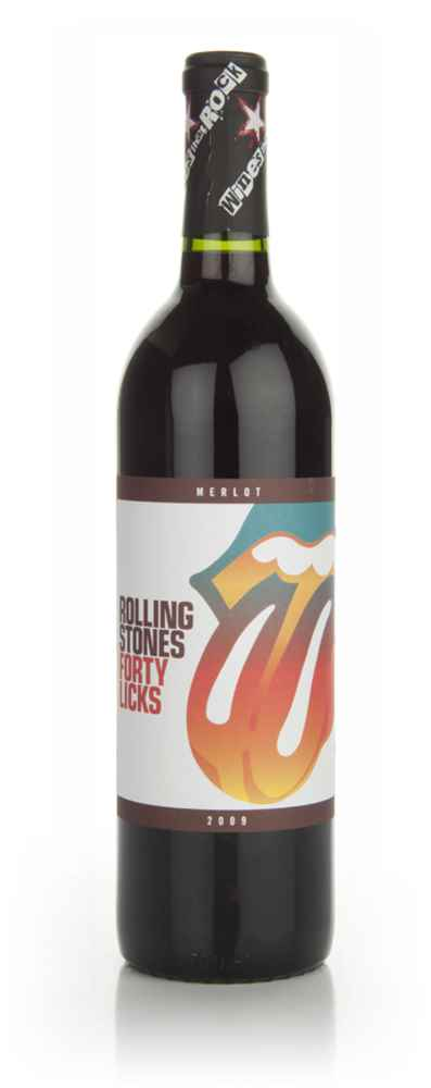 Wines that Rock - Rolling Stones - Forty Licks - 2009 Merlot